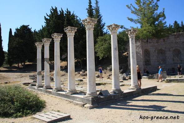 Asklepion  Kos Island Greece